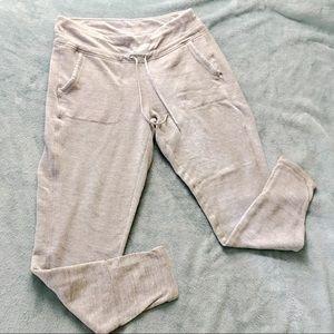 Cute Soft Athleta Jogger Sweatpants Light Grey